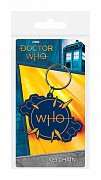 Doctor Who Rubber Keychain Insignia 6 cm