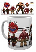Doom Classic Mug Enemies