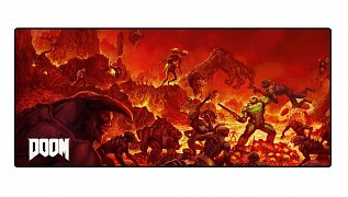 Doom Oversize Mousepad Retro