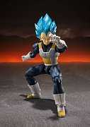 Dragon Ball Super Broly S.H. Figuarts Action Figure Super Saiyan God Super Saiyan Vegeta 14 cm --- DAMAGED PACKAGING