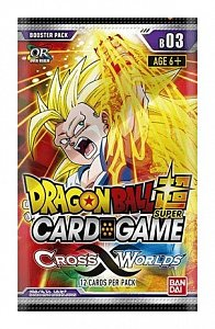 Dragonball Super Card Game Season 3 Booster Display Cross Worlds (24) *English Version* - 1