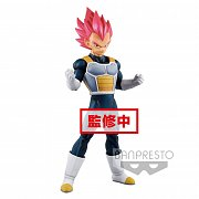 Dragonball Super Cyokuku Buyuden PVC Statue Super Saiyan God Vegeta 22 cm --- DAMAGED PACKAGING