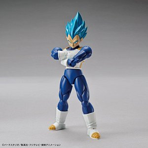 Dragonball Super Figure-rise Standard Plastic Model Kit Super Saiyan God Super Saiyan Vegeta 15 cm - 1