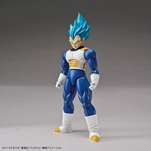 Dragonball Super Figure-rise Standard Plastic Model Kit Super Saiyan God Super Saiyan Vegeta 15 cm - 2
