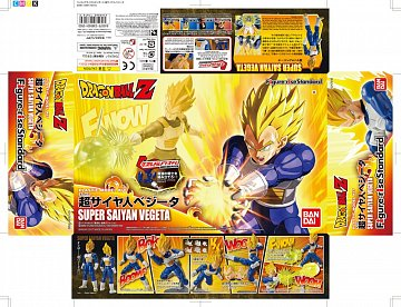 Dragonball Z Figure-rise Standard Plastic Model Kit Super Saiyan Vegeta 15 cm - 6