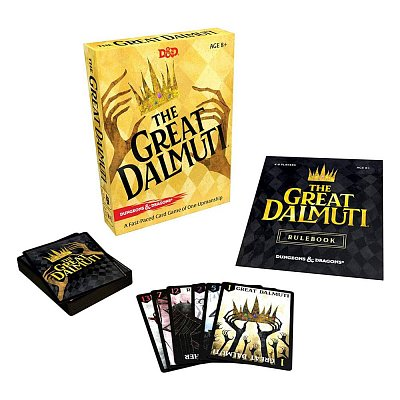Dungeons & Dragons Card Game The Great Dalmuti Display (8) english