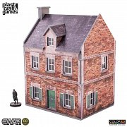 EWAR WWII ColorED Miniature Gaming Model Kit 28 mm Townhouse