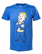 Fallout 4 Triko Vault Boy (modrá)