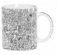 Fallout Mug Vault Boy Collage