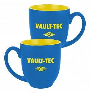Fallout Mug Vault-Tec Logo Blue/Yellow - 1