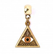 Fantastic Beasts Charm Triangle Eye (antique brass plated)