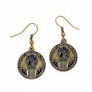 Fantastic Beasts Magical Congress Earrings (antique brass plated)