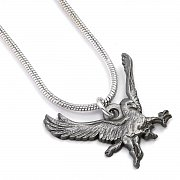 Fantastic Beasts Pendant & Necklace Buckbeak (silver plated)
