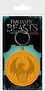 Fantastic Beasts Rubber Keychain Macusa Logo 6 cm