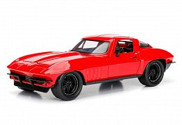 Fast & Furious 8 Diecast Model 1/24 Letty\'s 1966 Chevy Corvette