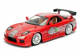 Fast & Furious Diecast Model 1/24 Dom\'s 1995 Mazda RX-7