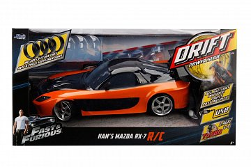 Fast & Furious RC Car 1/10 Mazda RX-7 Drift - 2