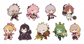 Fate/Apocrypha Rubber Charms 7 cm Assortment Niitengomu! (10) --- DAMAGED PACKAGING