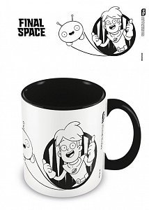 Final Space Coloured Inner Mug Buddies - 1