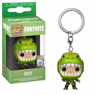 Fortnite Pocket POP! Vinyl Keychain Rex 4 cm