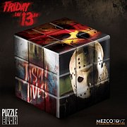 Friday the 13th Puzzle Blox Puzzle Cube Jason Voorhees 9 cm --- DAMAGED PACKAGING