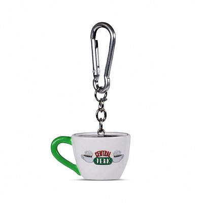 Friends 3D-Keychain Central Perk 4 cm Case (10)
