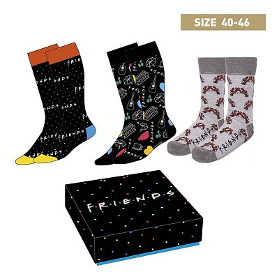 Friends Socks 3-Pack Symbols 40-46
