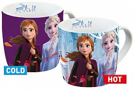 Frozen 2 Heat Change Mug Elsa & Anna