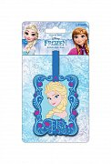 Frozen Rubber Luggage Tag Elsa