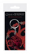 Game of Thrones 3D Metal Keychain Targaryen Sigil 6 cm