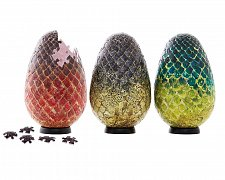 Game of Thrones 3D Puzzle Dragon Eggs (240 pieces)