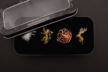 Game of Thrones 4-Pack Pin Badges Main Houses - 2