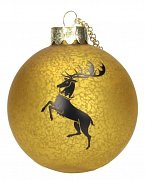 Game of Thrones Glass Ornament Baratheon