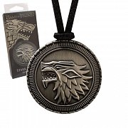 Game of Thrones Pendant Stark Shield