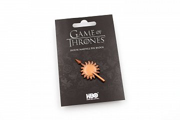 Game of Thrones Pin Badge House Martell - 2