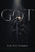 Game of Thrones Poster Pack Jon for the Throne 61 x 91 cm (5)