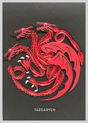 Game of Thrones Quilled Greeting Card House Targaryen
