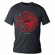Game of Thrones T-Shirt Targaryen Fire And Blood black