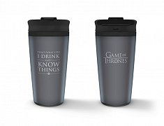 Game of Thrones Travel Mug I Drink And I Know Things