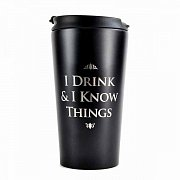 Game of Thrones Travel Mug I Drink & I Know Things