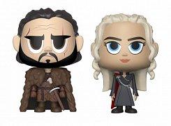 Game of Thrones VYNL Vinyl Figures 2-Pack Jon & Daenerys 10 cm