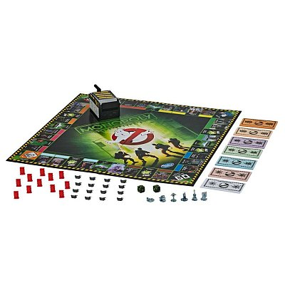 Ghostbusters Board Game Monopoly *English Version* --- DAMAGED PACKAGING