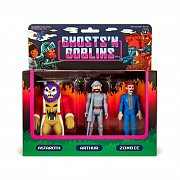 Ghosts \'n Goblins ReAction Action Figure 3-Pack A 10 cm