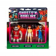 Ghosts \'n Goblins ReAction Action Figure 3-Pack B 10 cm