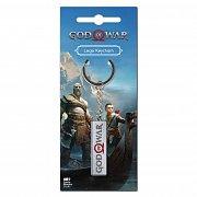 God of War Metal Keychain Logo