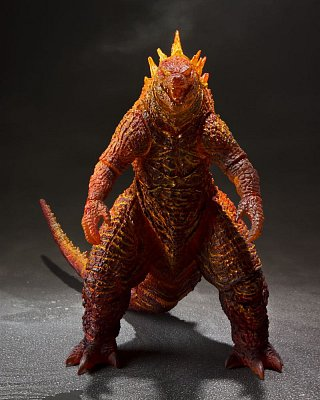 Godzilla: King of the Monsters 2019 S.H. MonsterArts Action Figure Burning Godzilla 16 cm --- DAMAGED PACKAGING