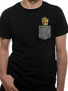 Guardians of the Galaxy 2 T-Shirt Cosy Groot Pocket