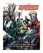 Guardians of the Galaxy Art Book Creating Marvel\'s Spacefaring Super Heroes
