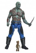 Guardians of the Galaxy Volume 2 Marvel Select Action Figure Drax & Baby Groot 18 cm