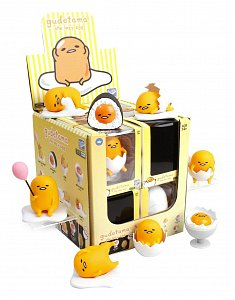 Gudetama Action Vinyls Mini Figures 8 cm Wave 2 Display (12) - 1